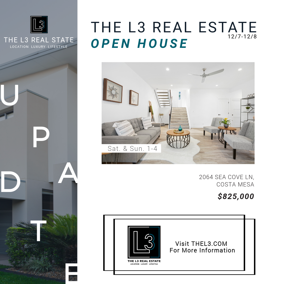 Open House in Costa Mesa