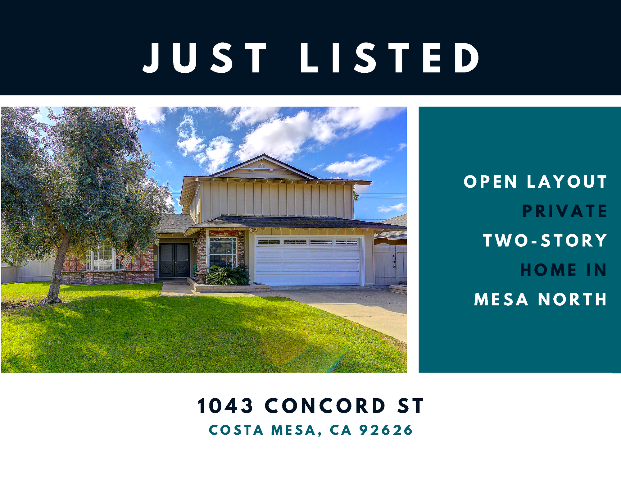New Listing in Mesa North, Costa Mesa