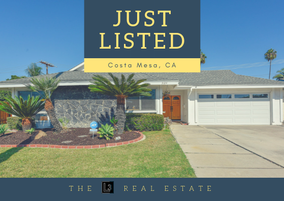 Just Listed 3124 Lincoln Way, Costa Mesa