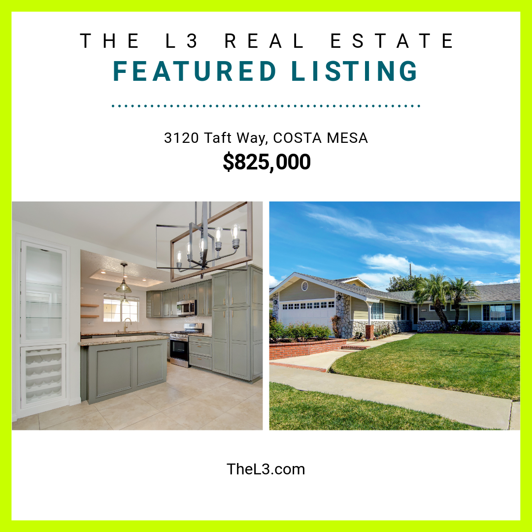 New Listing In Costa Mesa