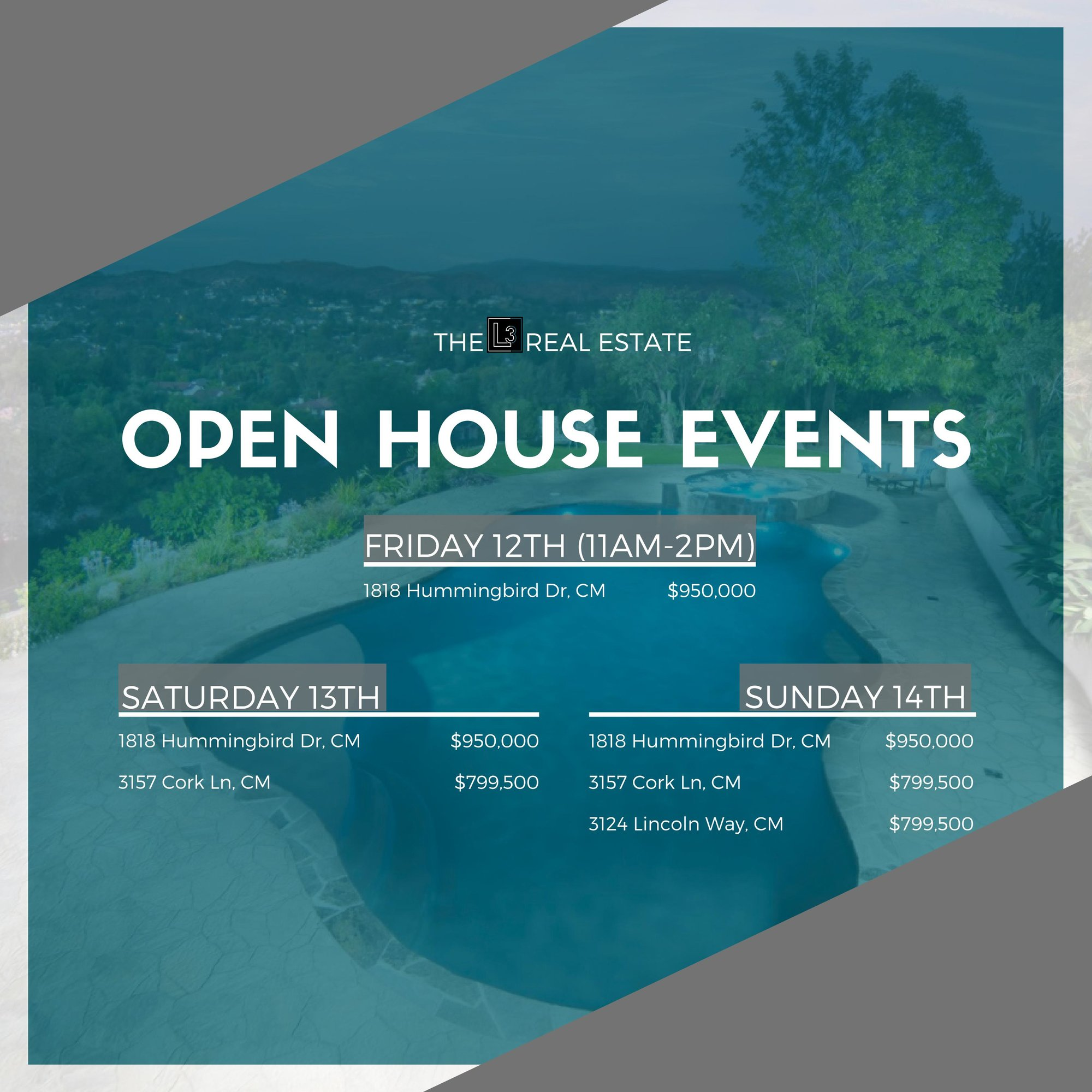 Open House Events in Costa Mesa