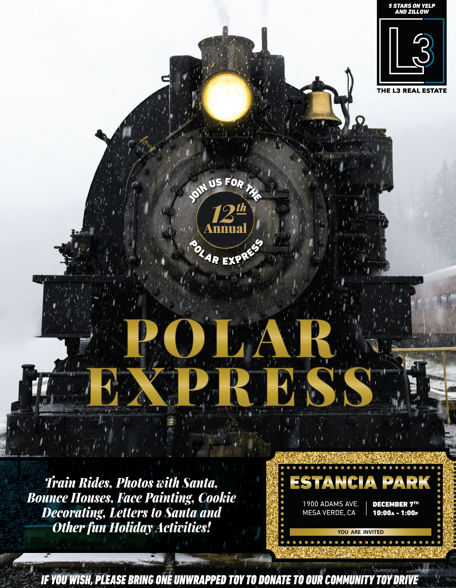 The L3 Real Estate Presents Polar Express 2019